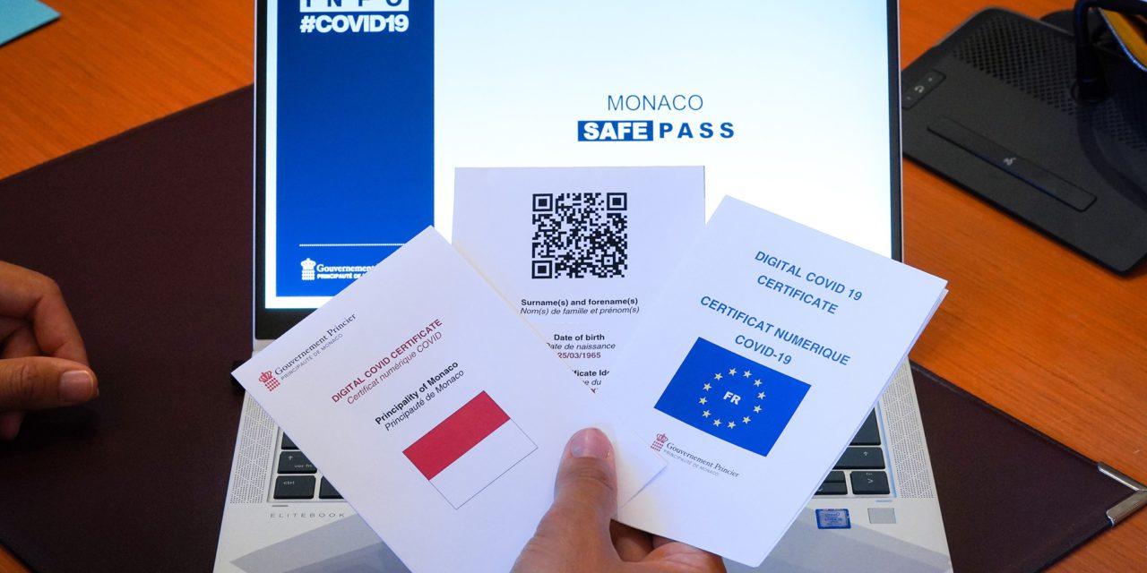 Monaco Safe Pass available three days early