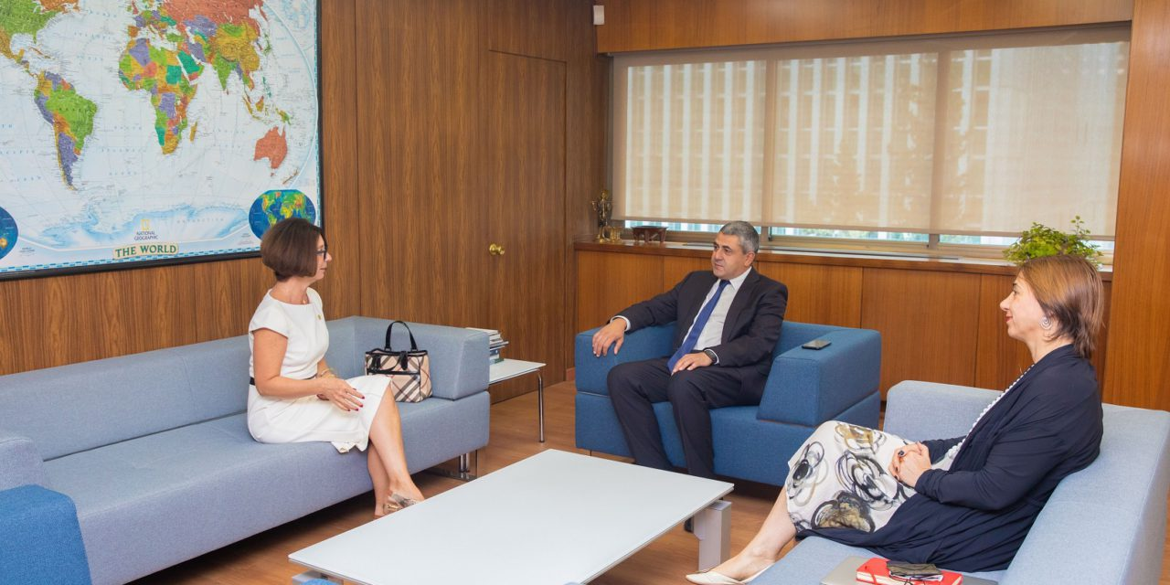 Monaco's Ambassador meets for talks with top tourism chief