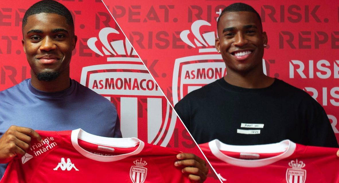 AS Monaco welcome two new summer signings