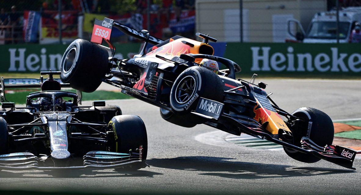Mayhem at Monza as Hamilton and Verstappen collide