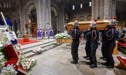 Monaco firefighters mourned at Cathedral ceremony