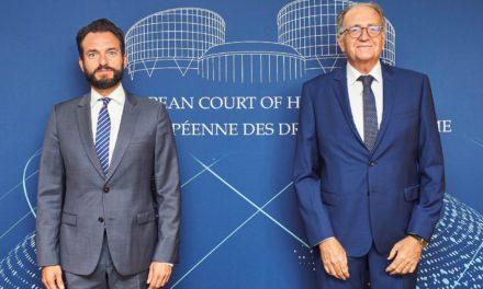 Robert Gelli visits Strasbourg
