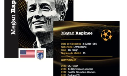Female footballer collector cards launched